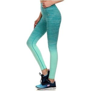 New Cathy by New Mix Teal Ombré Leggings